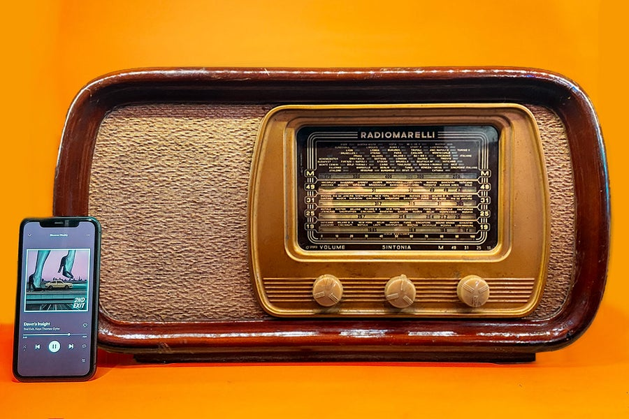 Image of RADIOMARELLI 11A25 (1948) SPEAKER BLUETOOTH