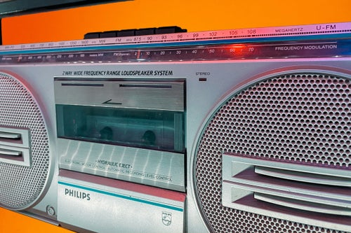Image of PHILIPS D8130 (1990) BLUETOOTH BOOMBOX