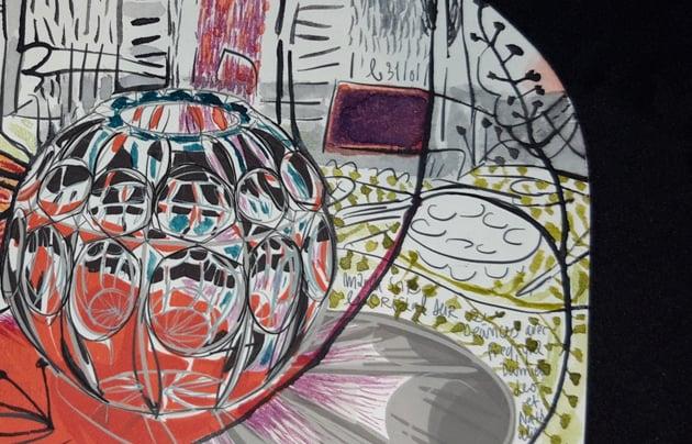 Image of IN FABULIS Le vase en cristal 2