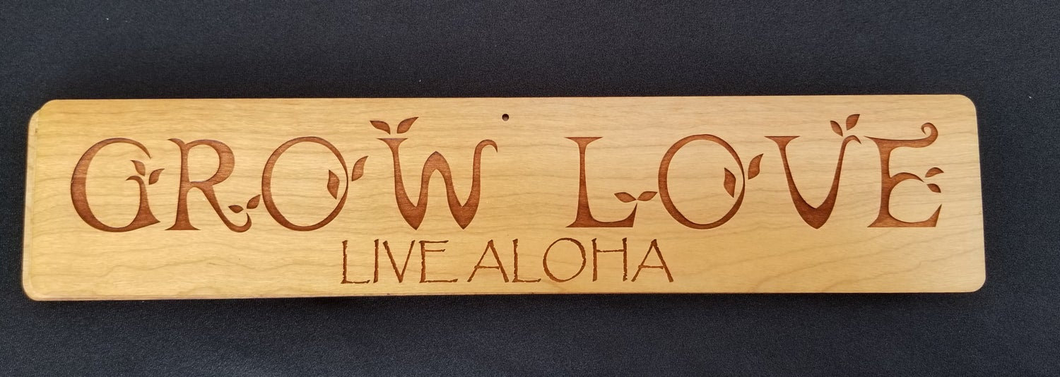 Image of Grow Love sign