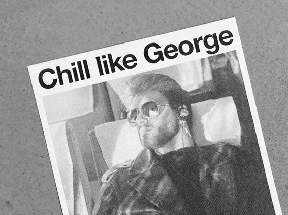 Image of RISOPRINT Chill like George