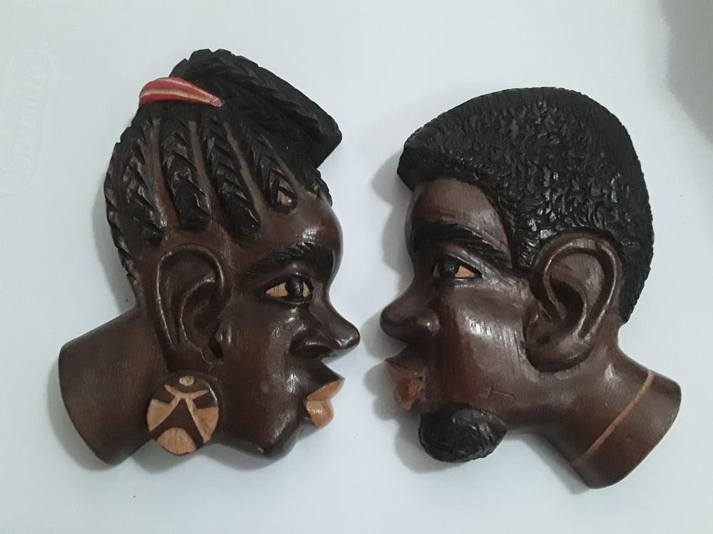 Image of Brazilian Man and Woman 7 inch