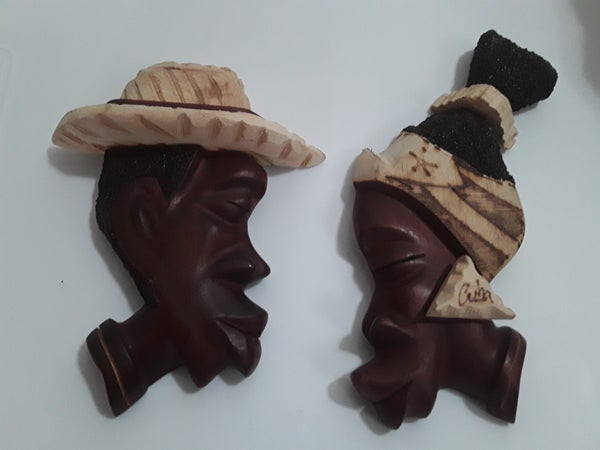 Image of Caribbean Man and Woman 7 inch