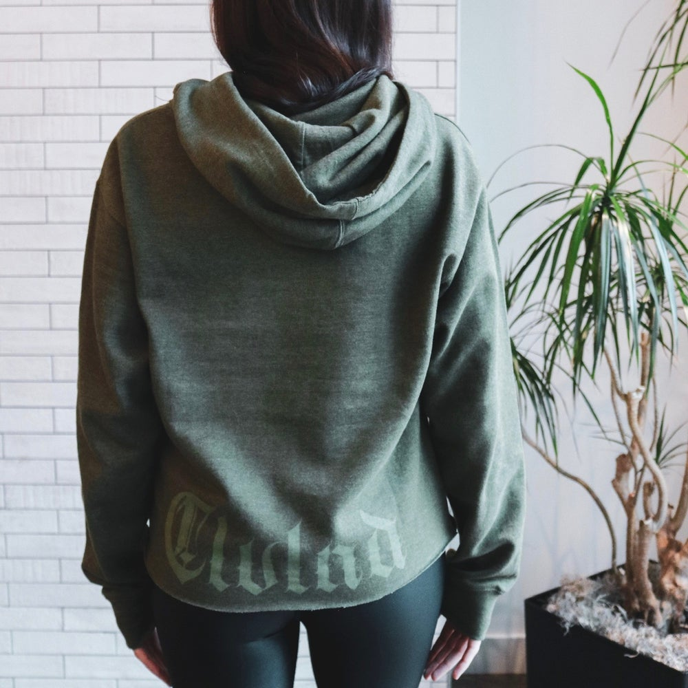 Image of CLVLND Goth in Army Green