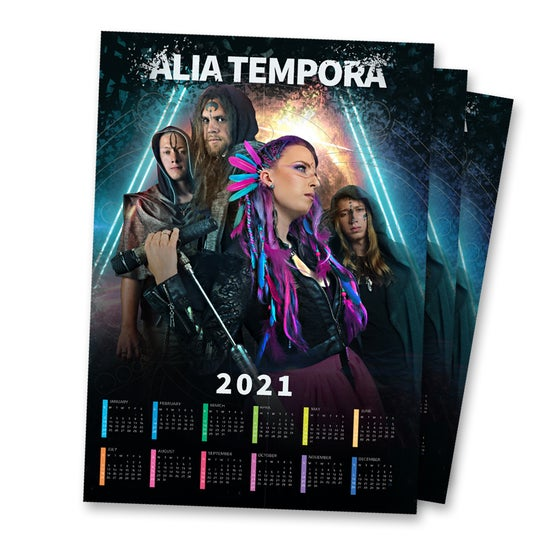 Image of 2020 Survivor - calendar poster