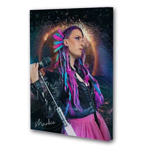 Image of UNICORN WARRIOR wall canvas (60x90 cm)