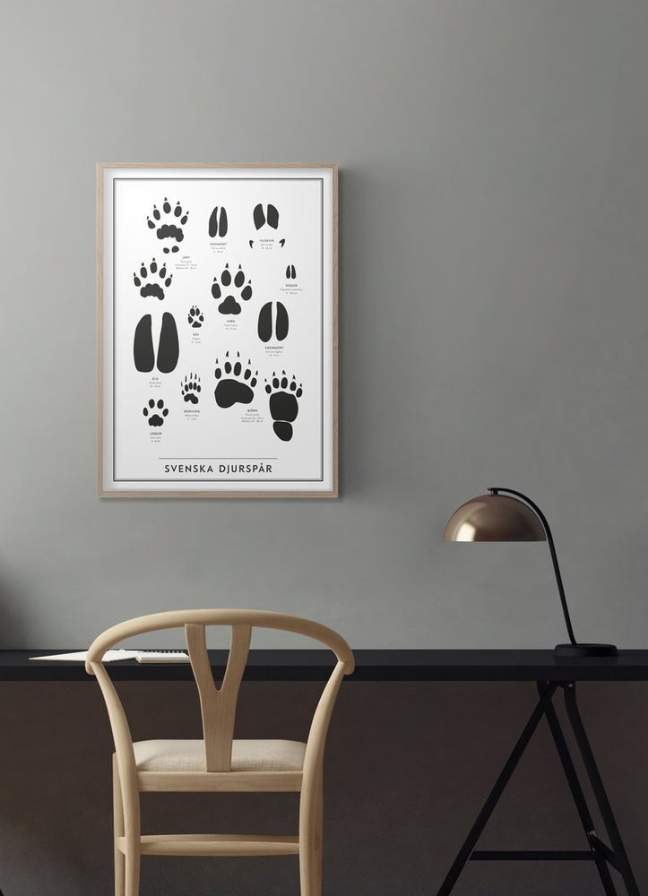 Image of POSTER - SCANDI ANIMAL PRINTS