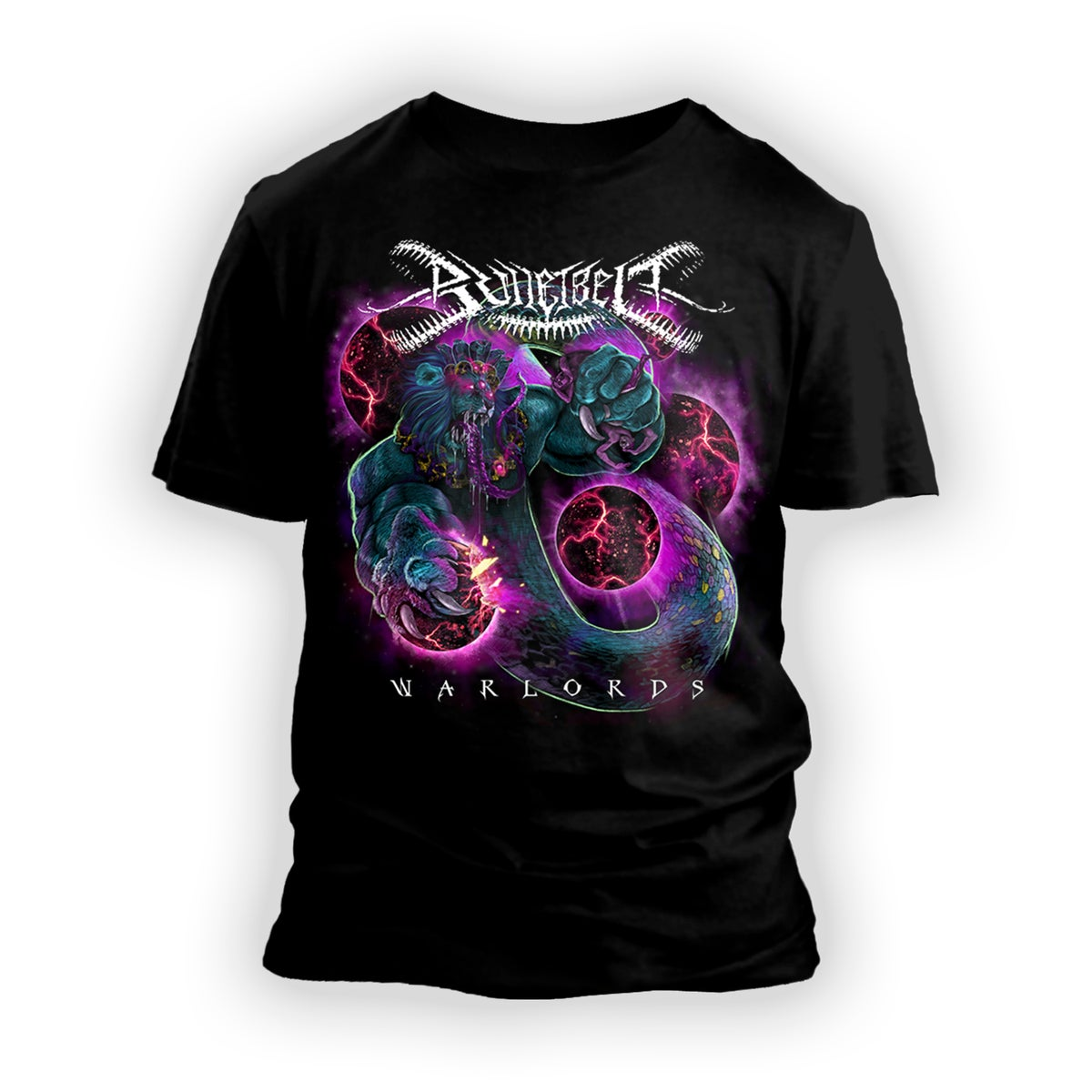 Image of Bulletbelt 'Warlords' T-Shirt