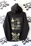 not for the weak hearted hoodie in black