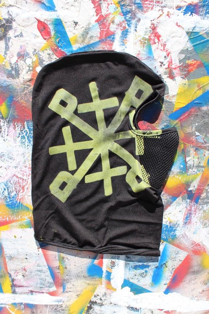 Image of shredddddddd ski mask in black
