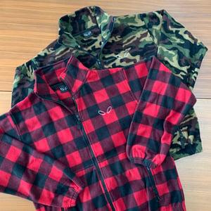 Image of Groovy Fleece Full-Zip Jacket