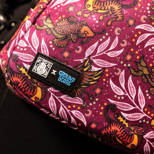 KOOZ - Earth, Wind, & Fire Crossbody Bag