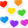 Roy G Biv Hearts