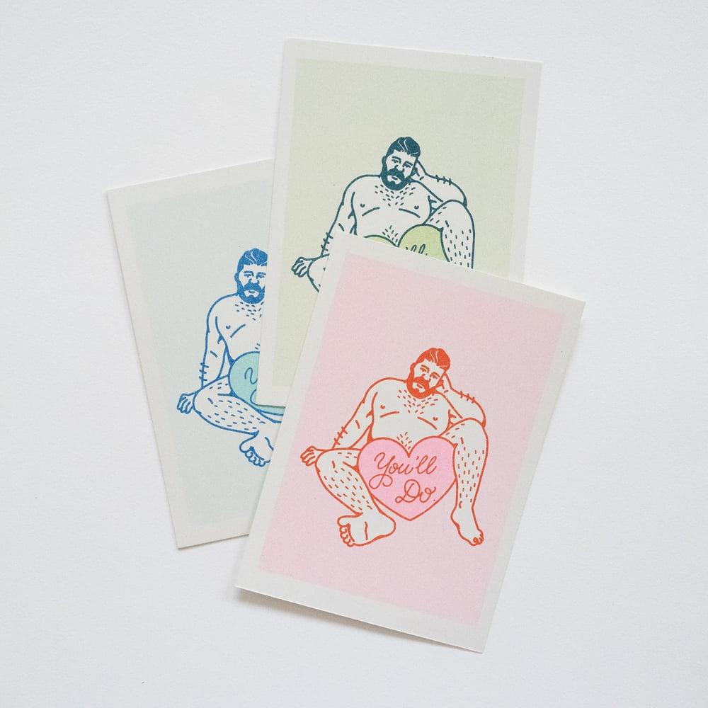 Image of Postcard set of 3