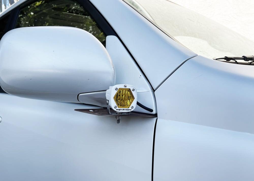 Image of 2003-2009 Toyota 4Runner Ditch Light Brackets