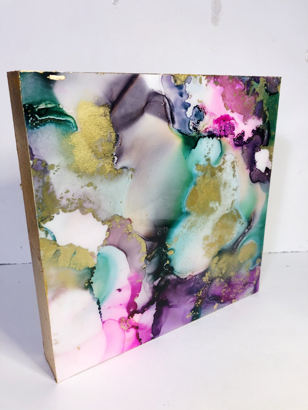 Image of Abstract ink painting #12
