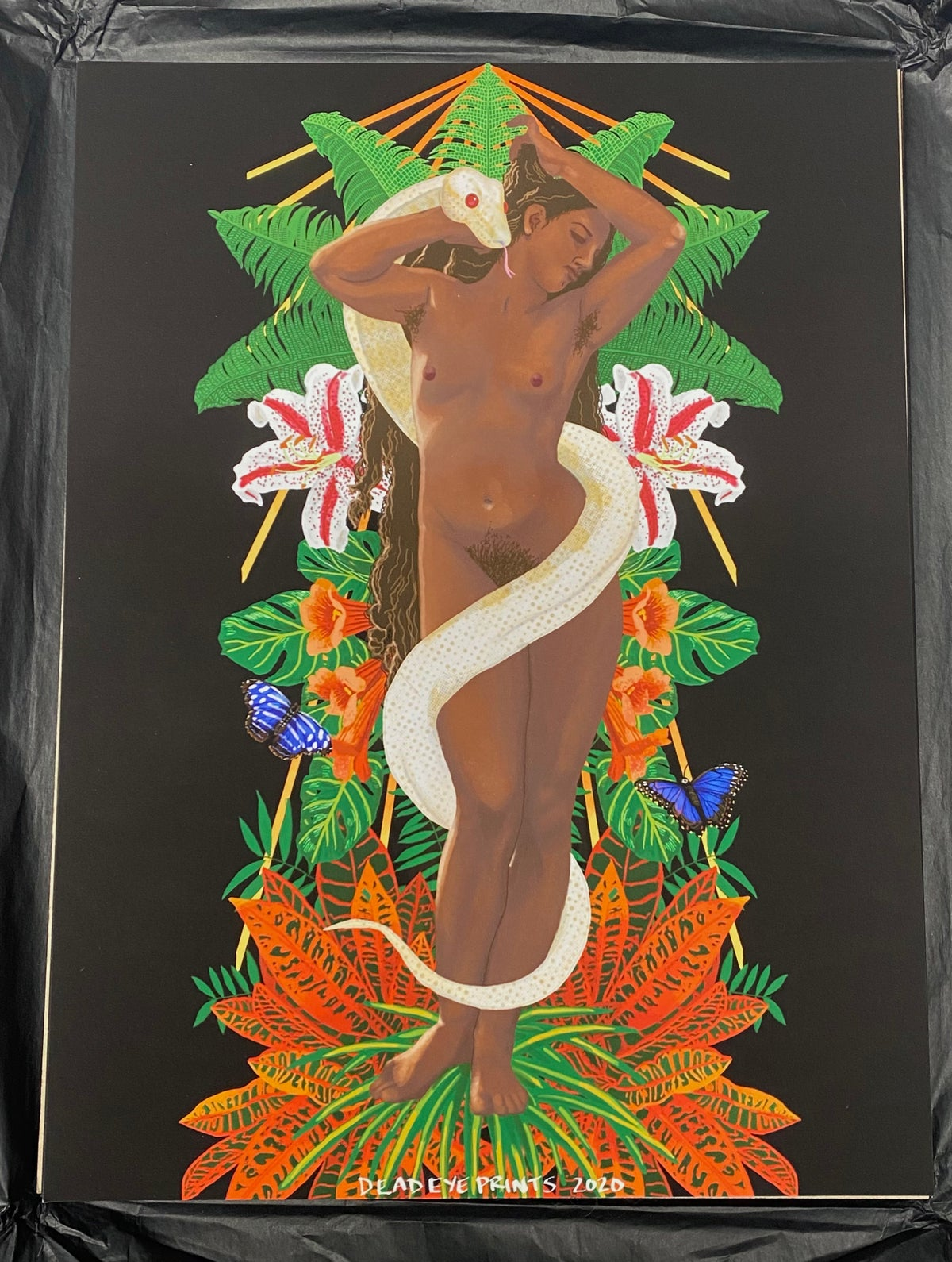 """Image of """"From Eden"""" print"""