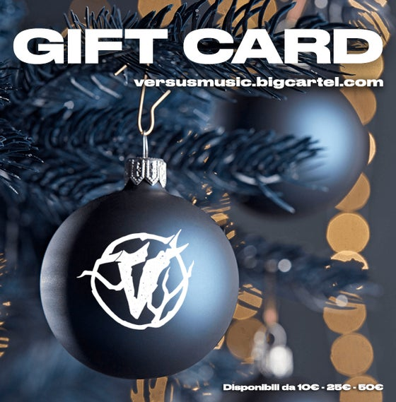 Image of GIFT CARD Versus Music Project