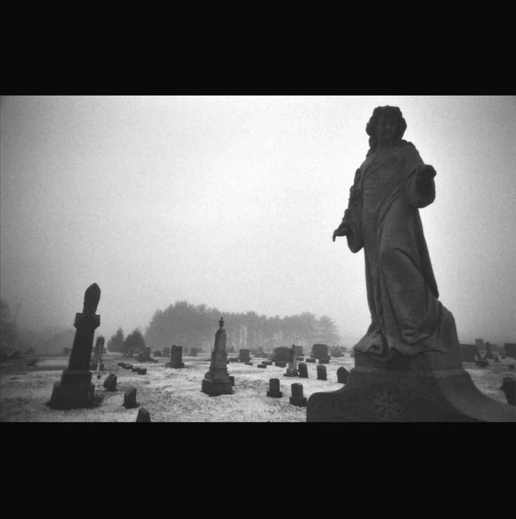 Image of ICONOCLAST / Mazeppa Cemetery, Dye-Sublimation print, 8x10, LIMITED EDITION of 10