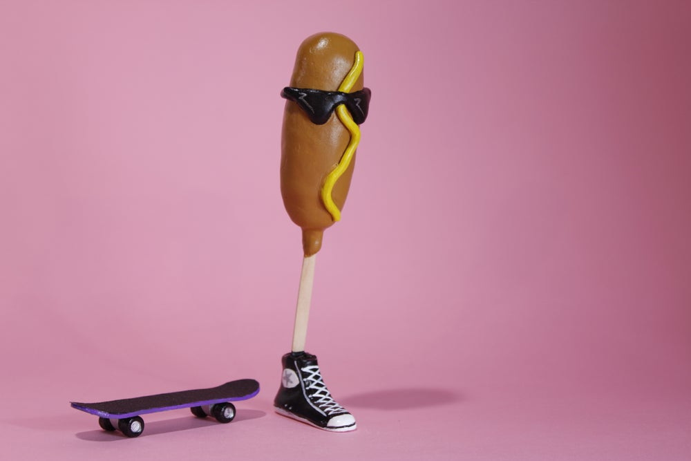 Image of Corndog Guy Action Figure