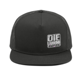 Image of Die Laughing Records Official LOGO - Mesh Back Snapback