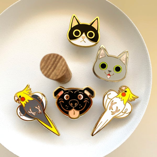 Image of Enamel Pin Set