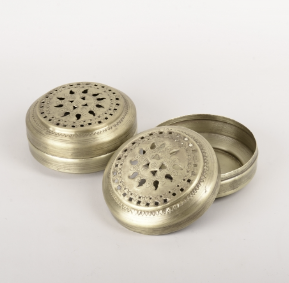 Image of Brass Mosquito Coil Box