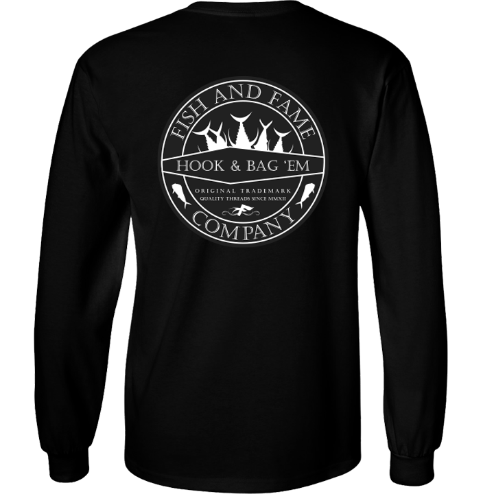 Image of Hook & Bag Em' Long Sleeve (black)