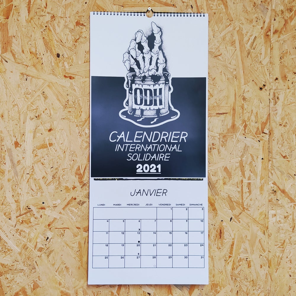 Image of Calendrier 2021