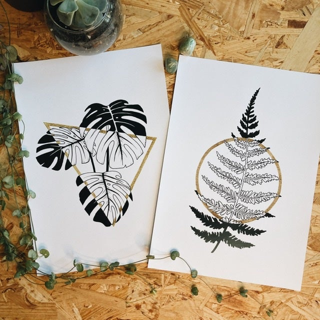 Image of Plant Prints (different motives)