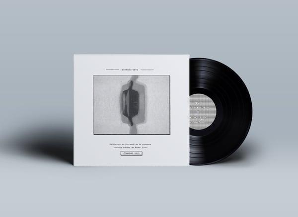 """Image of LP.  EXTRAÑO WEYS - """"VARIACIONS EN FU-REMOLL..."""". REEDICIÓ 2021"""