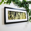Entangled - Framed Papercut Artwork of Birds Roosting