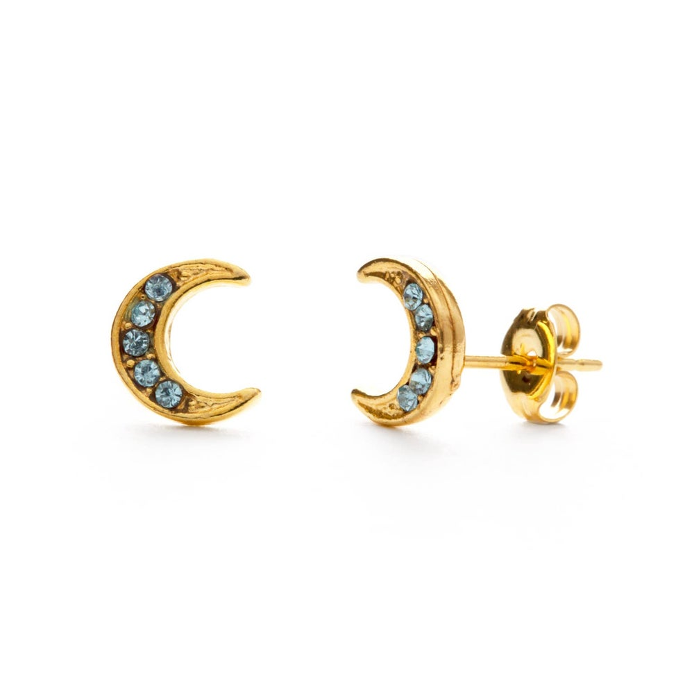 Image of Blue Moon Studs