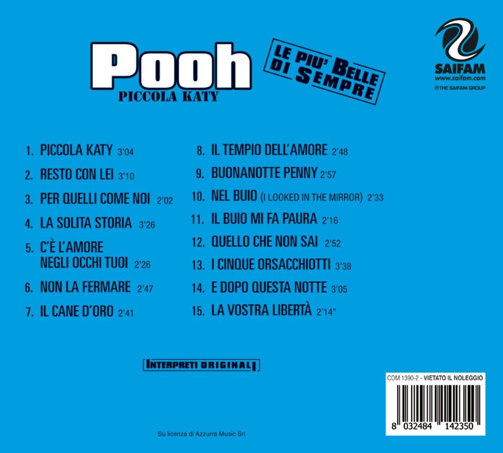 COM1390-2 // POOH - PICCOLA KATY (CD COMPILATION)