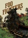 "Foo Fighters (The Van Tour 2020 • Minneapolis) • L.E. Official Poster (18"" x 24"")"
