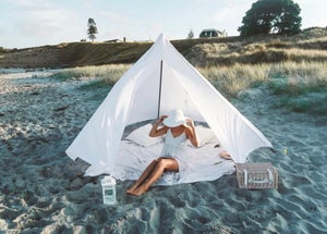 Image of WHITE BEACHTIPI