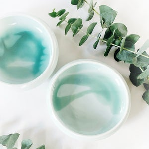 Image of shallow porcelain bowl
