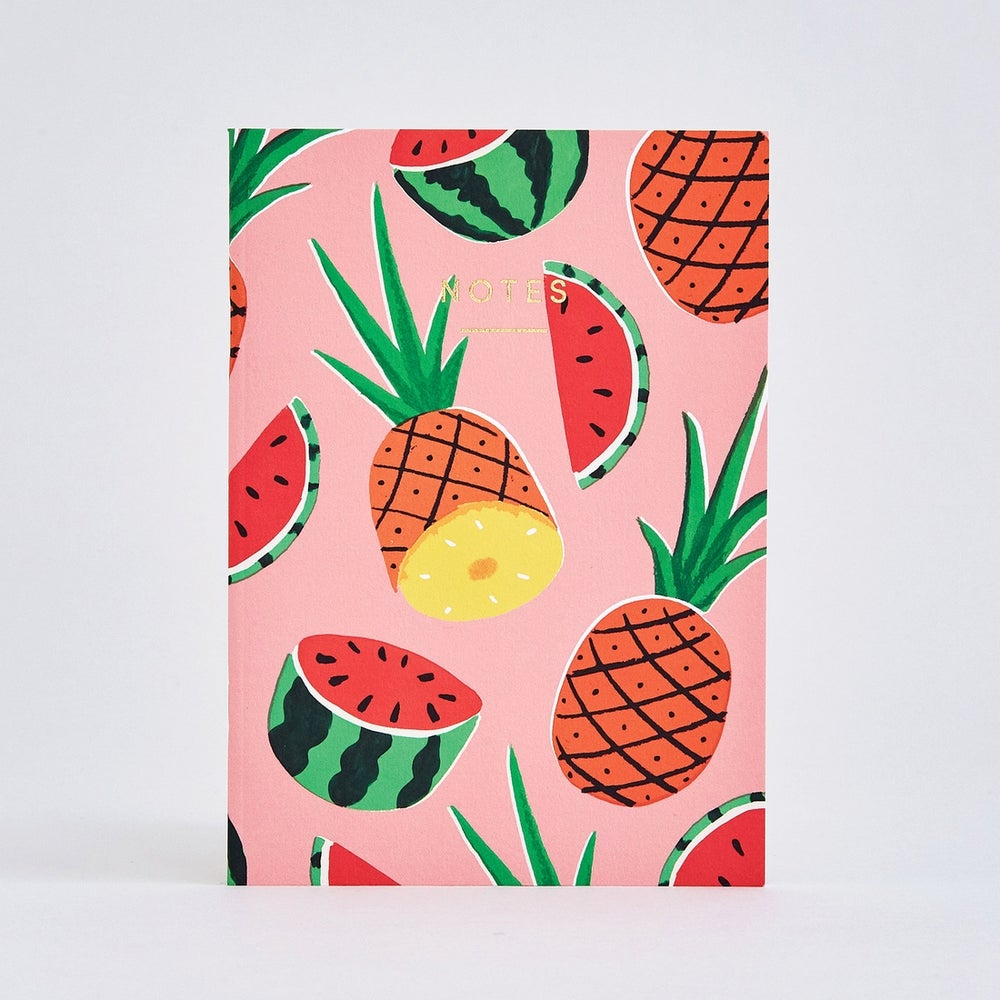 Image of Pineapples and Watermelons Notebook