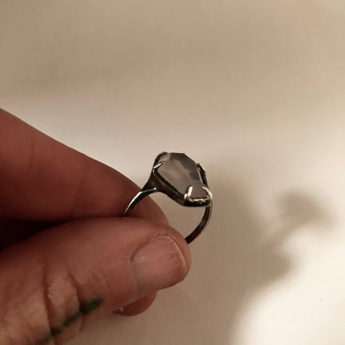 Image of Ghost Rose Coffin Ring