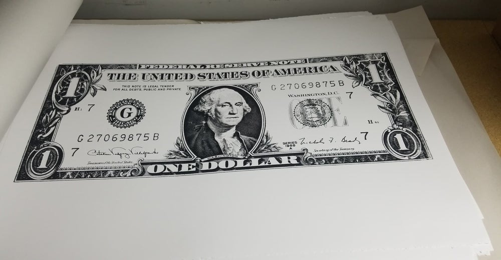 Image of Killing Joke Dollar Bill