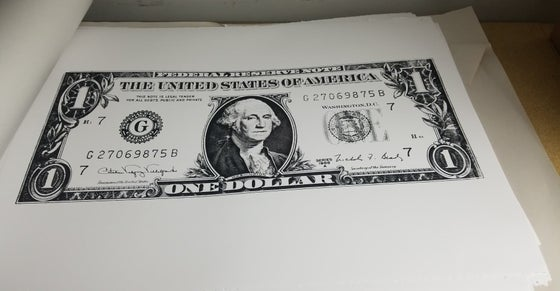 Image of Killing Joke Dollar Bill