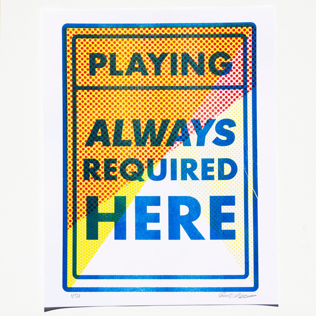 Image of Playing Always Required Here