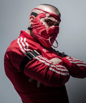 Image of RING MASK / SNEAKER MASK / RED