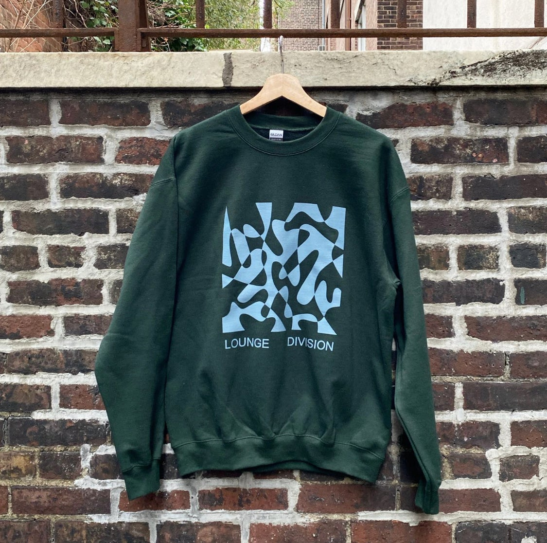 Image of Sweater (Forest/Slate)