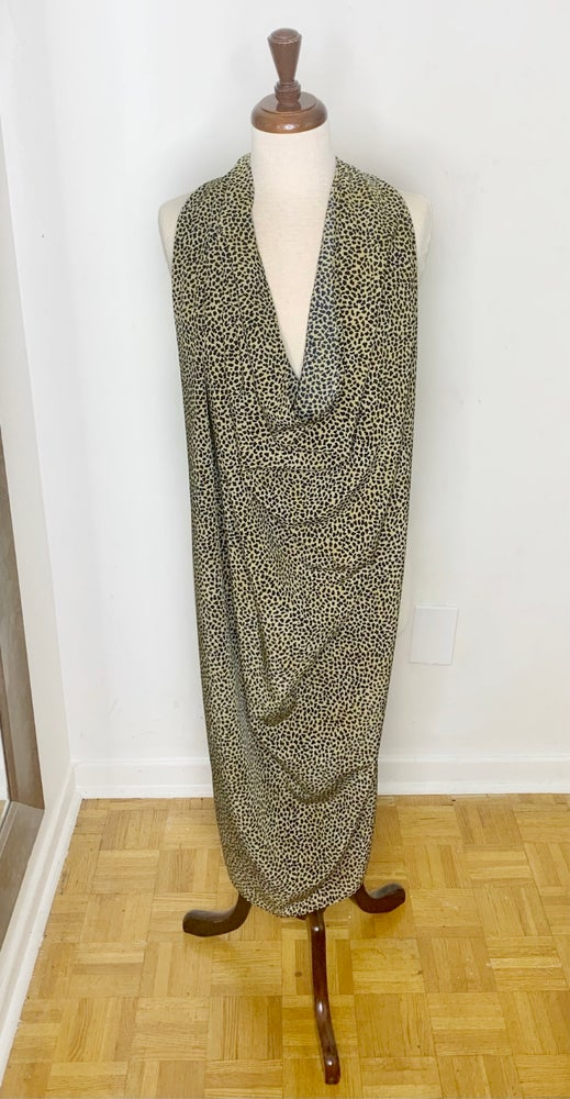 Image of Leopard print scarf