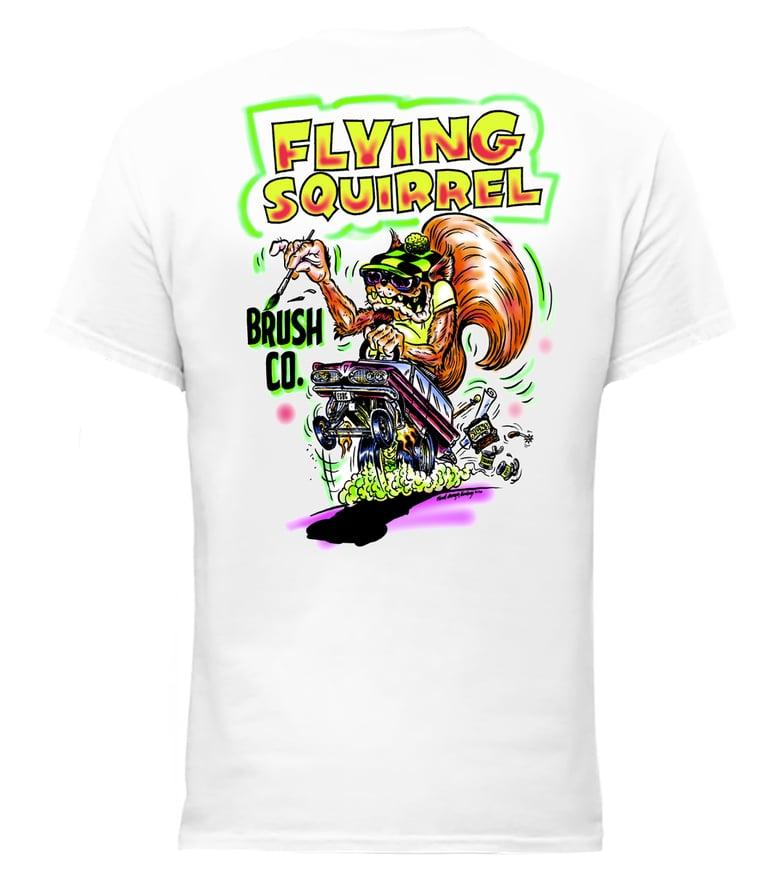 "Image of Hot Rod ""Airbrush"" Flying Squirrel Shirt"
