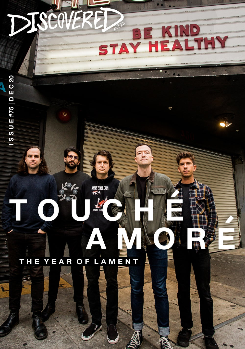 Image of ISSUE #75 - TOUCHE AMORE - DECEMBER 2020