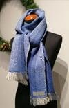 Smidig lång yllehalsduk / Soft long scarf