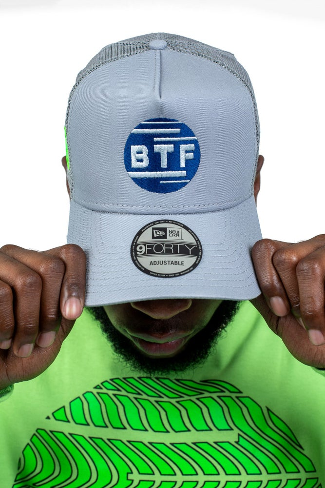 Image of BTF GREY TRUCKER HAT