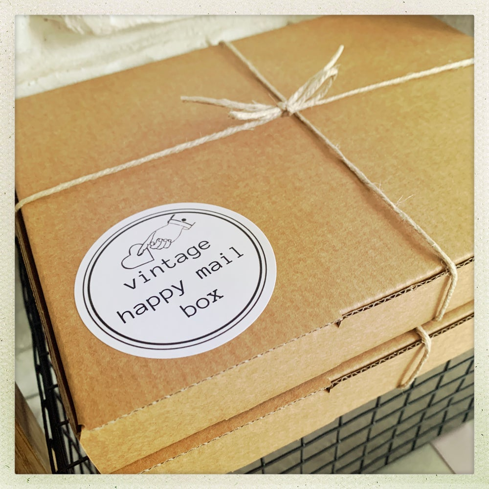 Image of vintage happy mail box